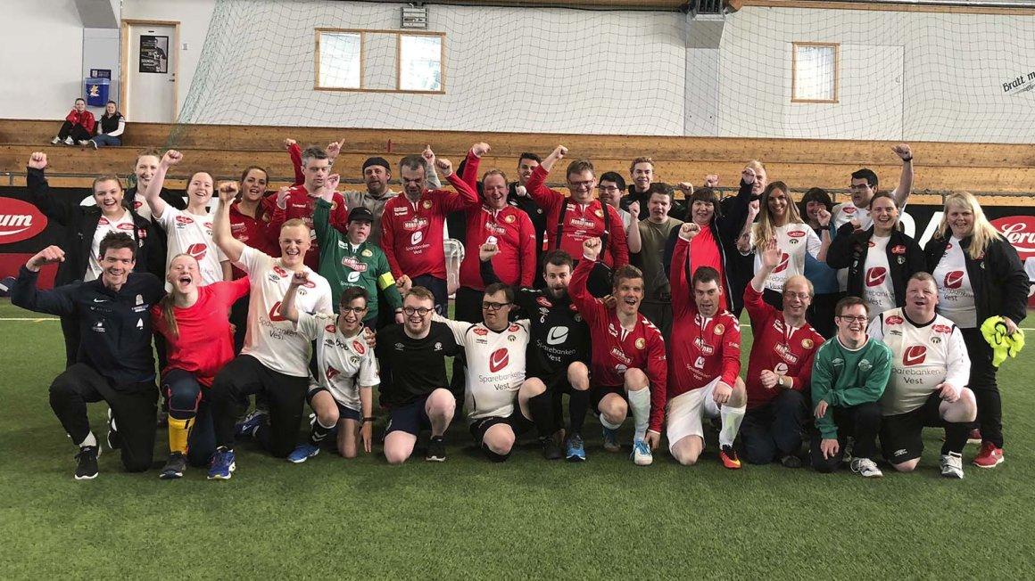 Delta på Sogndal United-tilrettelagt fotballsamling