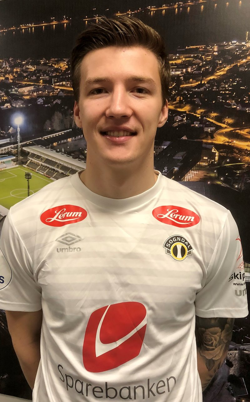 Axel Kryger gler seg til å ta fatt i Sogndal