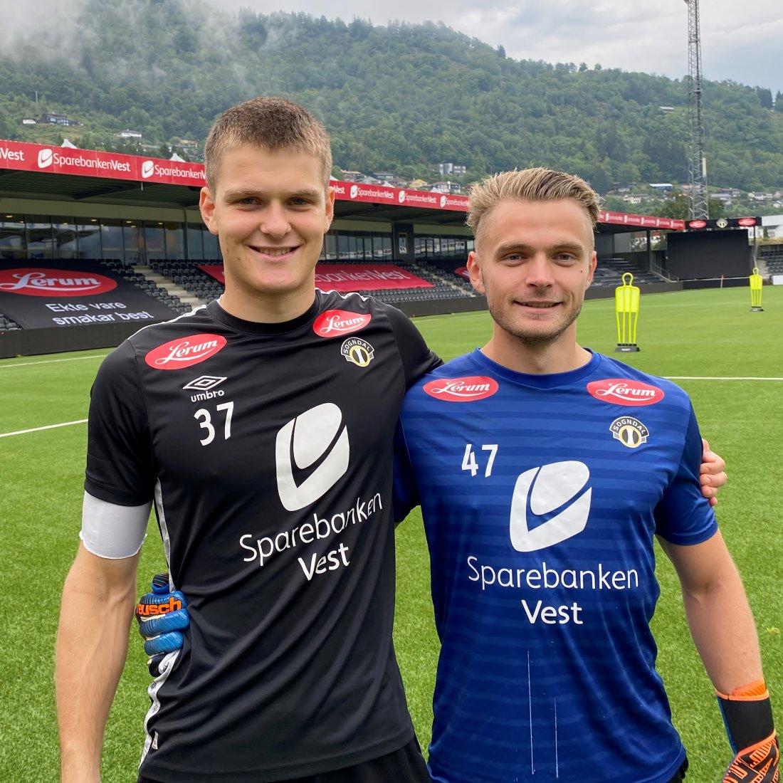 Håvard og Geir