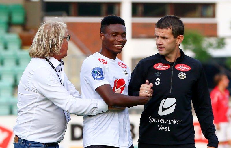 Rasmus Mo og Eirik Bakke er glade for å ha Igoh med på laget vidare
