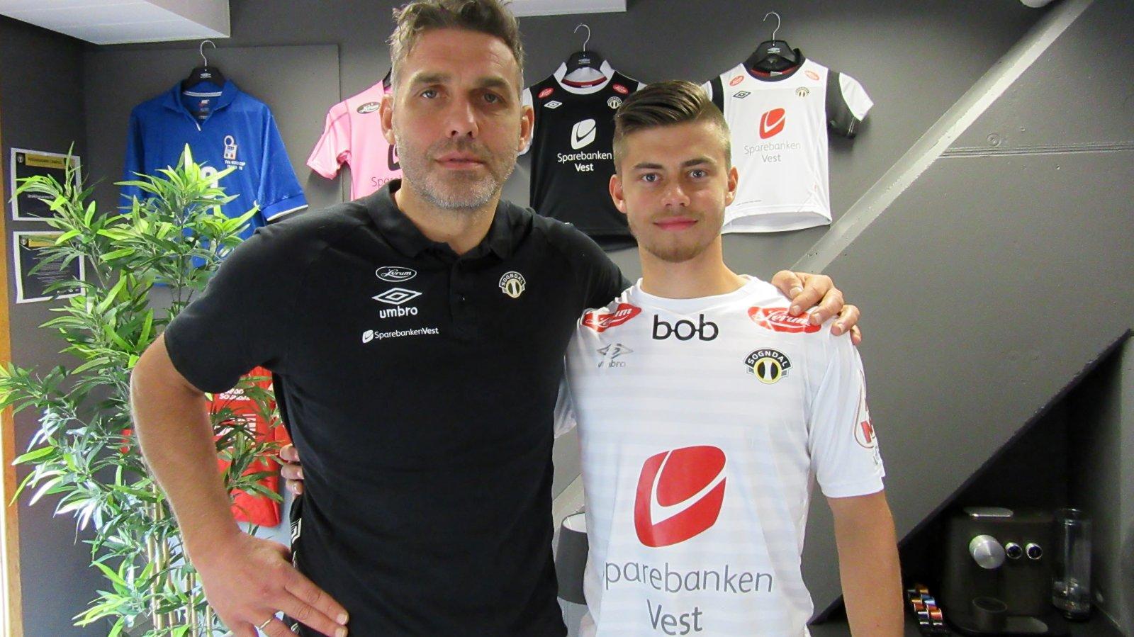 Håvard Flo og Markus Dahlen Brændsrød
