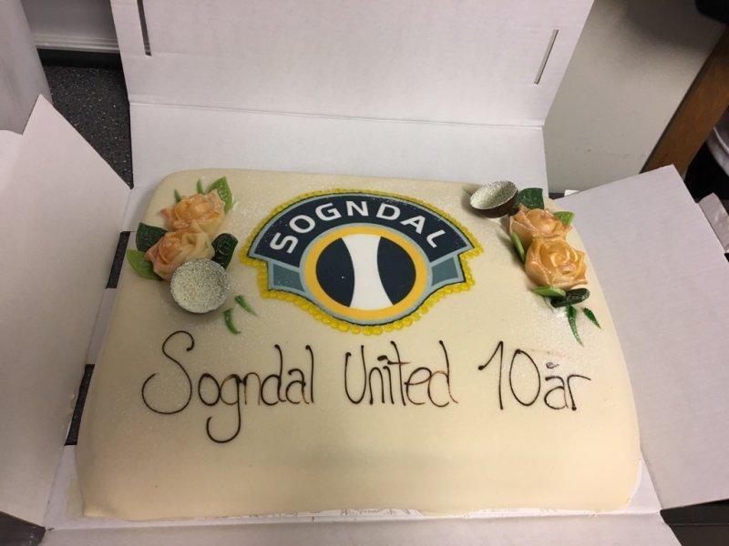 Sogndal United 10 år