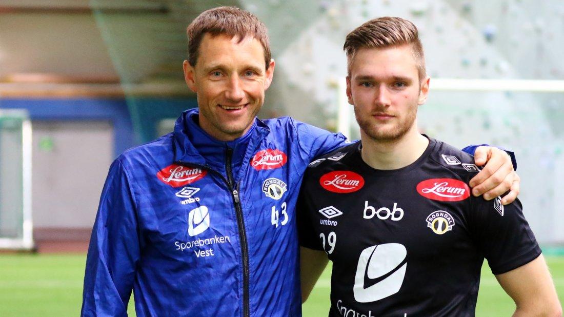 Terje Skjeldestad og Stefan Hagerup