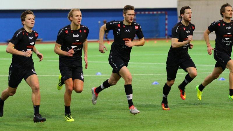 Stefan avslutta tida i Sogndal med løpstest i dag