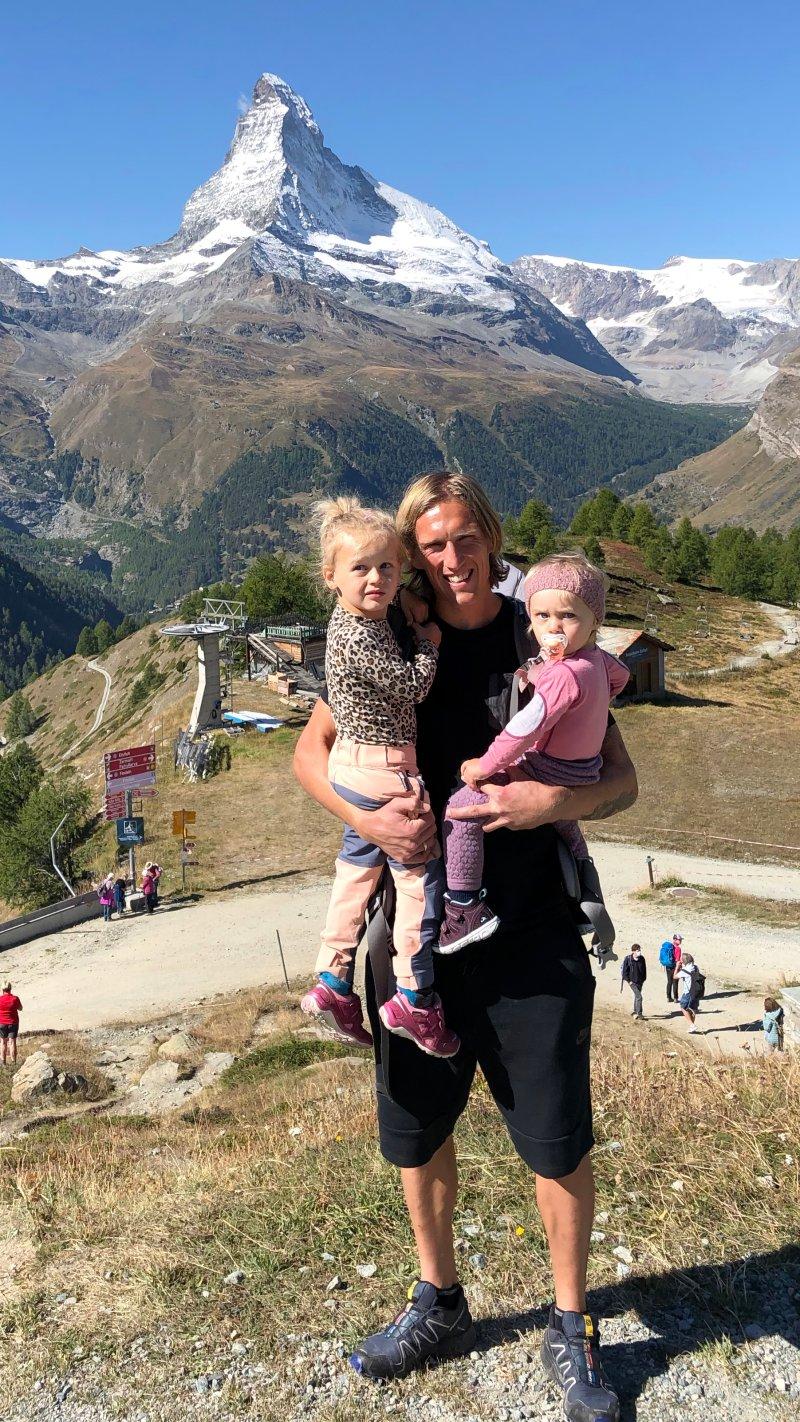 Per Egil, jentene og Matterhorn!